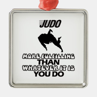 Trending Judo DESIGNS Metal Ornament
