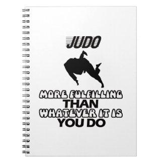 Trending Judo DESIGNS Notebook