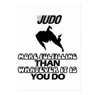 Trending Judo DESIGNS Postcard