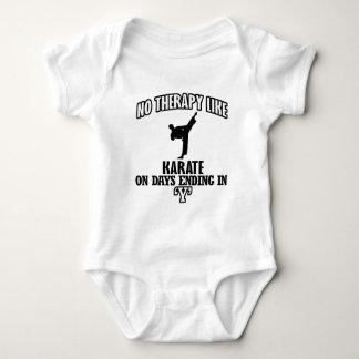 Trending Karate designs Baby Bodysuit