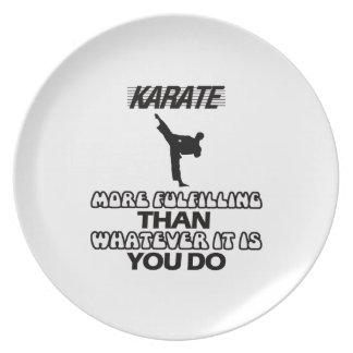 Trending Karate DESIGNS Dinner Plate