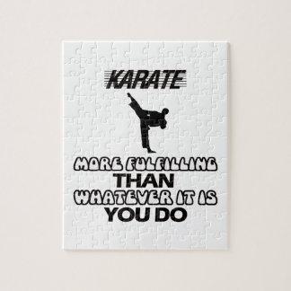 Trending Karate DESIGNS Jigsaw Puzzle