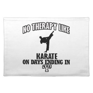 Trending Karate designs Placemat