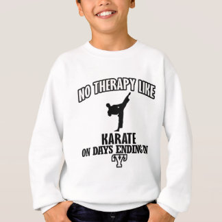 Trending Karate designs Sweatshirt