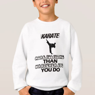 Trending Karate DESIGNS Sweatshirt