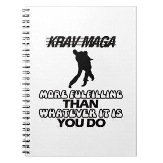 Trending Krav Maga DESIGNS Notebooks