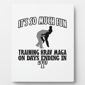 Trending Krav Maga designs Plaque