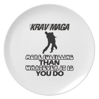 Trending Krav Maga DESIGNS Plate