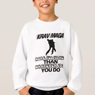 Trending Krav Maga DESIGNS Sweatshirt