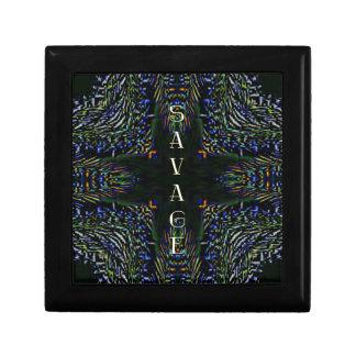 Trending Pop Culture Slang 'Savage' Jewelry Box