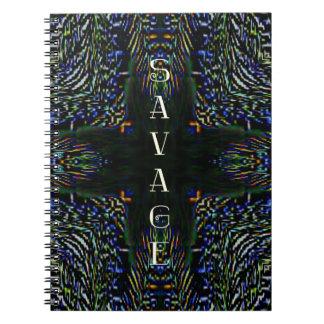 Trending Pop Culture Slang 'Savage' Note Book