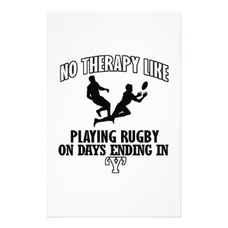 Trending Rugby designs Customized Stationery