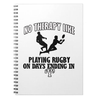 Trending Rugby designs Notebooks