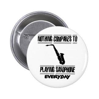 Trending Saxophone designs 2 Inch Round Button