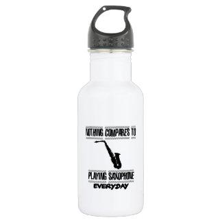 Trending Saxophone designs 532 Ml Water Bottle