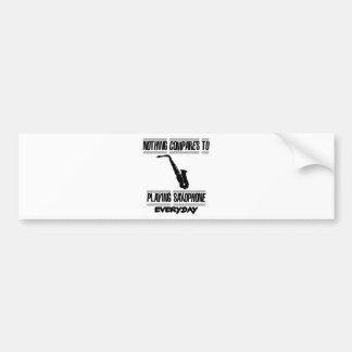 Trending Saxophone designs Bumper Sticker