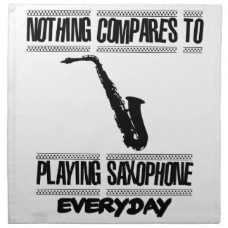 Trending Saxophone designs Napkin
