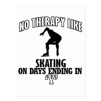 Trending skating DESIGNS Postcard