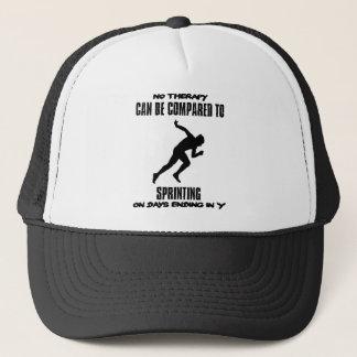 Trending Sprinting designs Trucker Hat