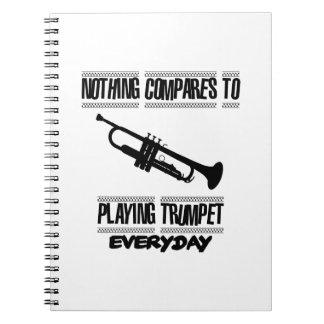 Trending Trumpet designs Notebooks