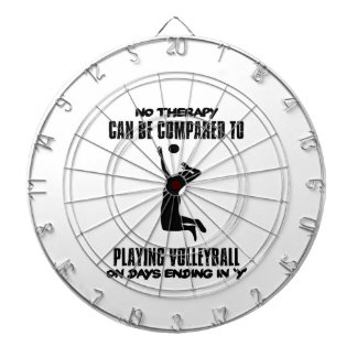 Trending Volleyball designs Dartboard With Darts