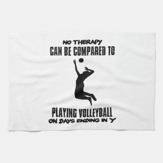 Trending Volleyball designs Kitchen Towel