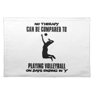 Trending Volleyball designs Placemat