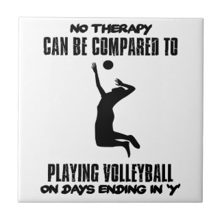 Trending Volleyball designs Tile
