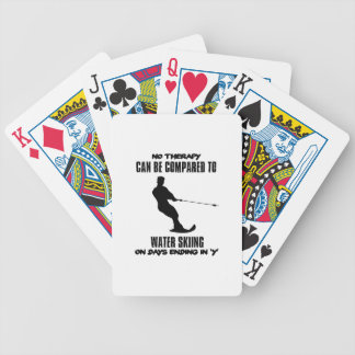 Trending Water skiing designs Bicycle Playing Cards
