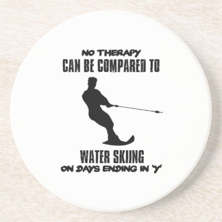 Trending Water skiing designs Coaster
