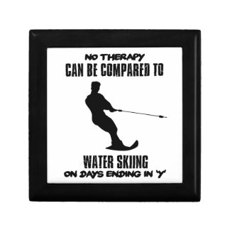 Trending Water skiing designs Gift Box