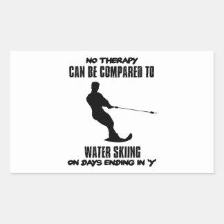 Trending Water skiing designs Sticker