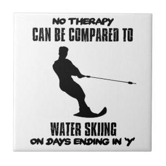 Trending Water skiing designs Tile