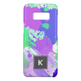 trendy abstract colorful neon brushstrokes Case-Mate samsung galaxy s8 case