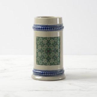 Trendy abstract modern pattern coffee mugs