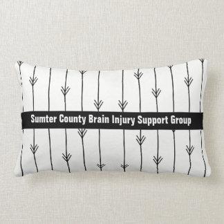 Trendy Arrows Custom Brain Injury Support Group Lumbar Pillow