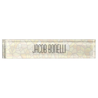 Trendy Attractive Stone Wall Design Modern Nameplate
