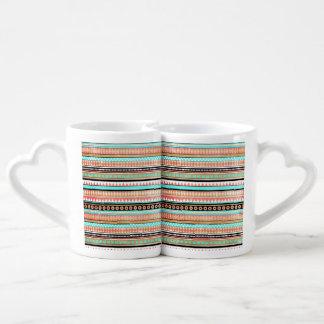 Trendy aztec coffee mug set
