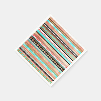 Trendy aztec disposable napkin