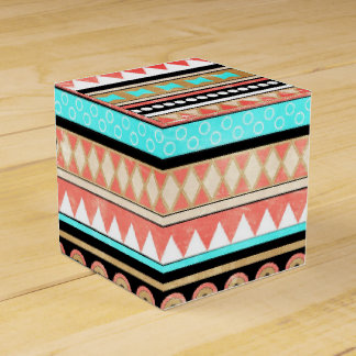 Trendy aztec party favor boxes