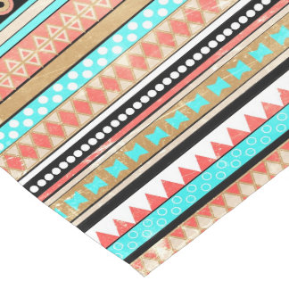 Trendy aztec short table runner