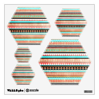 Trendy aztec wall decal