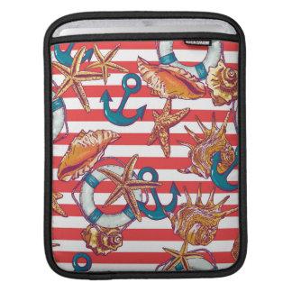 Trendy Beach Pattern iPad Sleeves