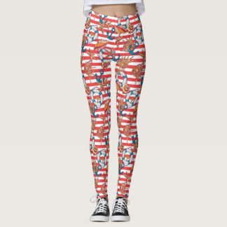Trendy Beach Pattern Leggings