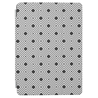 Trendy Black And White Geometric Tribal Pattern iPad Air Cover