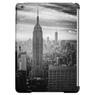 Trendy black and white New York Design iPad Air Covers