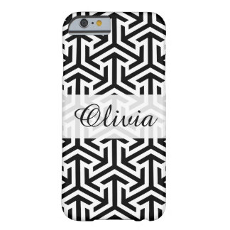 Trendy Black & White Pattern iPhone 6/6s Case