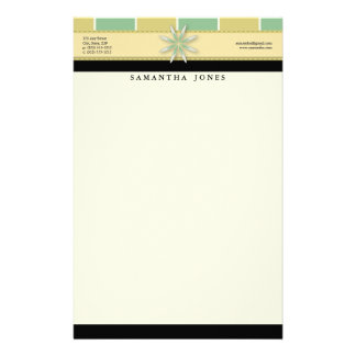 Trendy Bliss Oasis Customized Stationery
