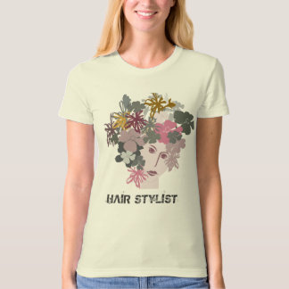 Trendy Blooming Beauty Nature Stylist T-Shirt
