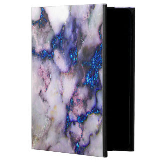 Trendy Blue And Grey And Pink Marble Stone
